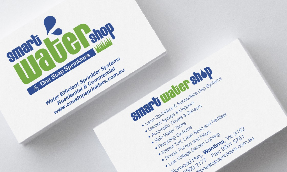 Business Cards - Wizard Advertising - Smart Water Shop